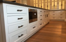 Lower White Drawers