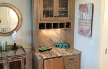 Small Wet Bar Cabinets