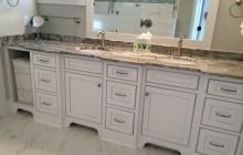 Custom His & Her Sink Vanity