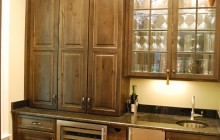 Rustic Wet Bar Remodel