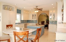 White Kitchen Remodeling Project