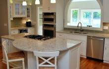 Remodeled Kitchen with Large Island
